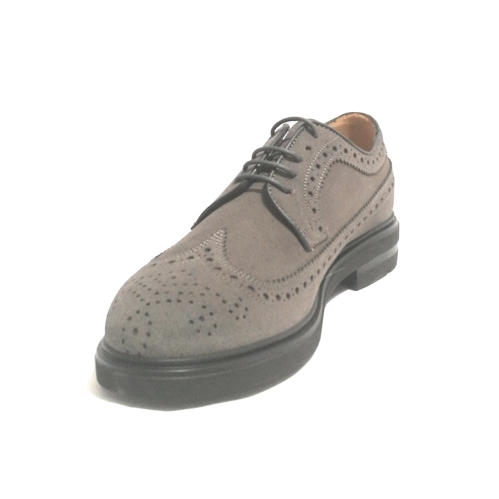 the latest ddc00 c9e8e SCARPA BROGUE UOMO ANTICA CUOIERIA MOD MOUNT PELLE ...
