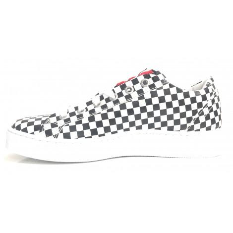 Uomo S15mo01 Moschino Black Scarpe Sneaker Donna White Chek Love PkZ8OwXn0N