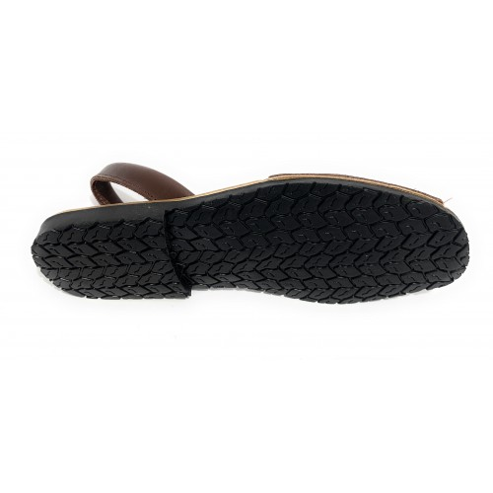 SKA AVARCA IBIZA nero scarpe donna minorchine pelle imbottite