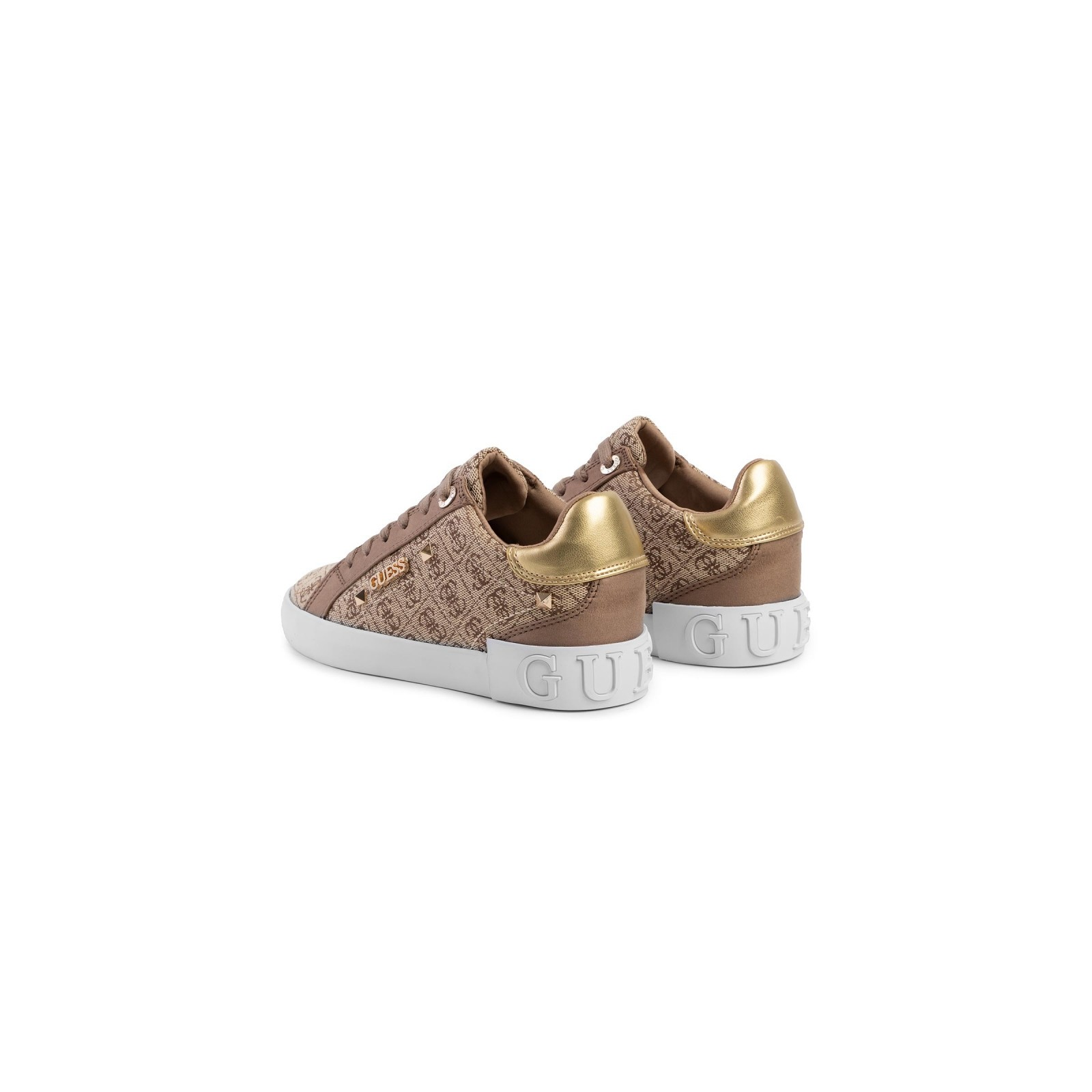 Guess Scarpe Donna Sneaker Puxly in TessutoEcopelle