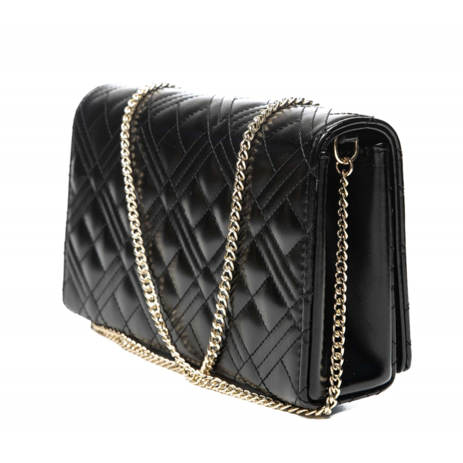Borsa donna Love Moschino tracollina clutch in ecopelle