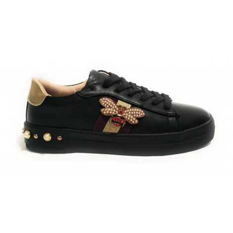 SNEAKER DONNA GOLD&GOLD IN...